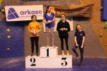 podium cadet fille